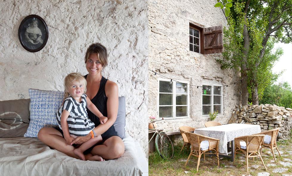 Kolla in Amelia Widells underbara sommarhus på Gotland