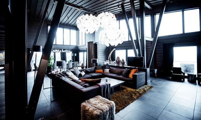 Kika in i fjällvärldens lyxigaste hus: The Villa är en upplevelse