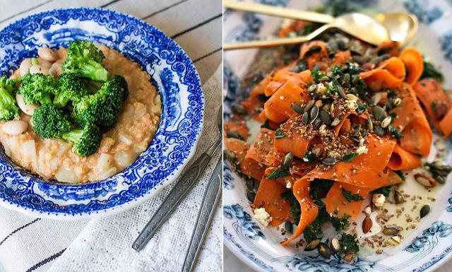 Veckans meny med hälsoprofilernas bästa middagsrecept