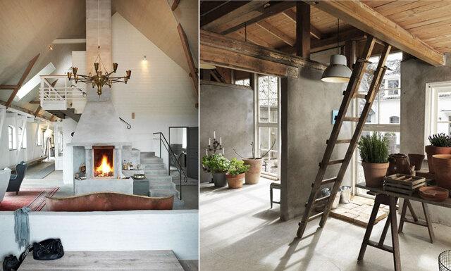 Betong och industri - veckans hem är en inredningsdröm i Ystad