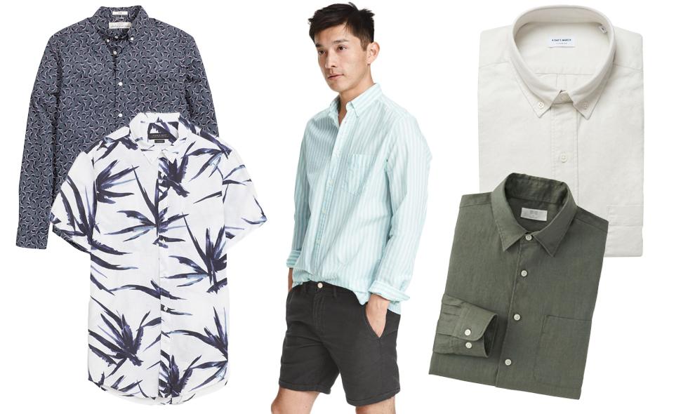 Mest stil för minst pengar – 10 snygga sommarskjortor för herrar
