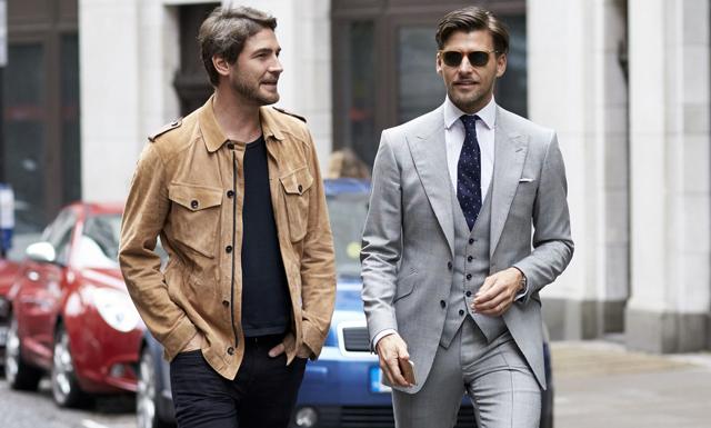 Londons herrmodevecka –sno stilen av modeprofilerna