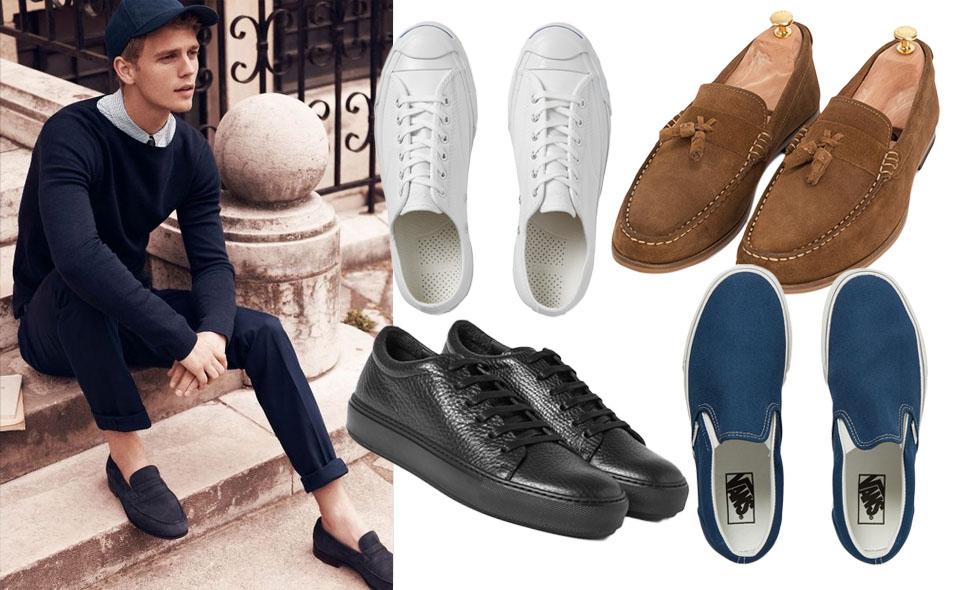 Sommarens snyggaste skor för herrar 2016