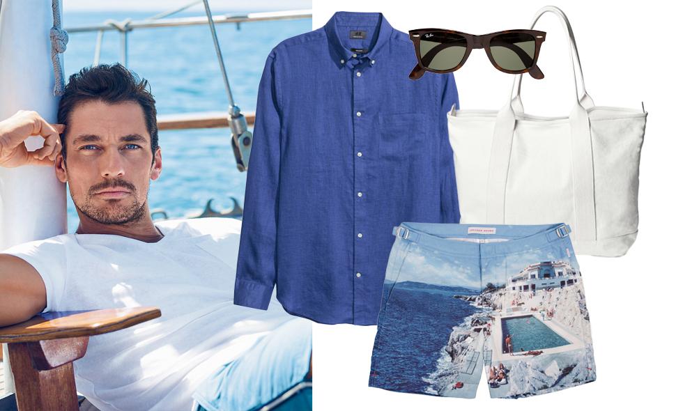 Kläder online – 10 snygga herrplagg som sätter semesterstilen 2016