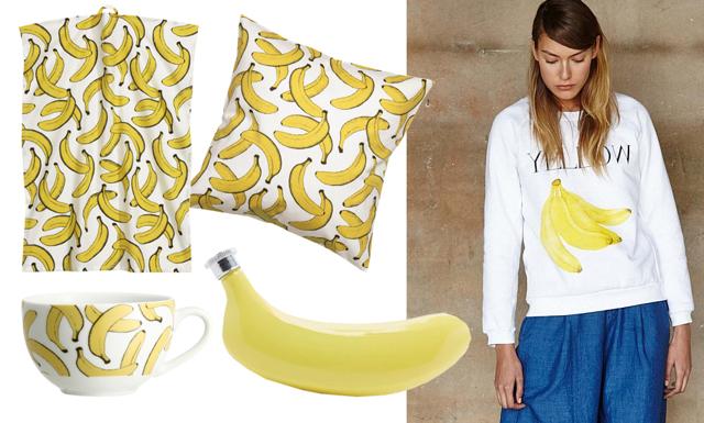 Go bananas i sommar! 8 banan-prylar vi älskar just nu!