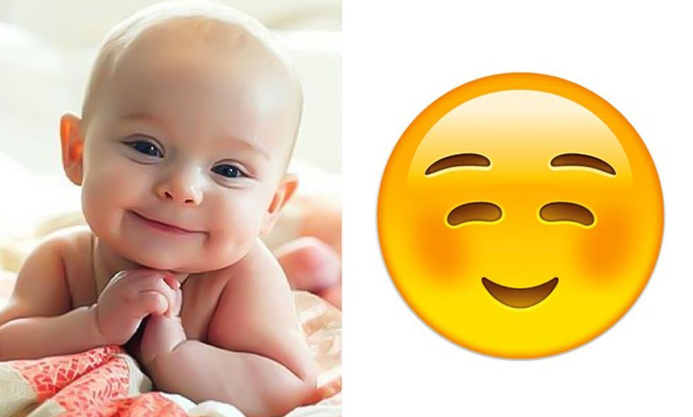 10 bebisar som visar hur emoji-uttrycken ser ut – på riktigt