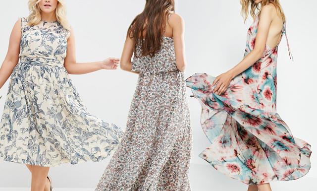 8 blommiga klänningar för sommarens alla tillfällen
