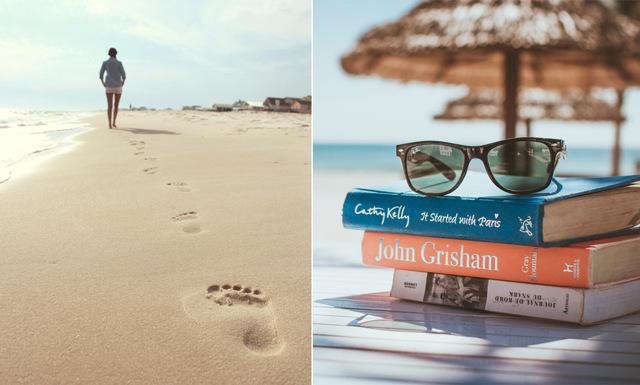 Stranden nästa! 7 hälsoböcker du inte vill missa i sommar