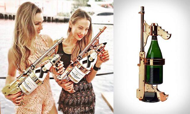 Sommarens bästa partypryl är här – Champagnepistolen är ett måste