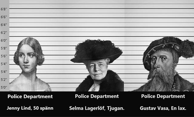 EFTERLYSNING! Har du sett Gurra, Jenny och Selma?