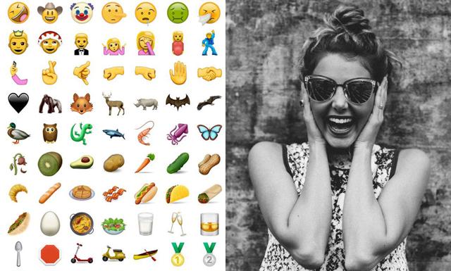 ÄNTLIGEN har det kommit 72 nya emojis – kolla in dem här