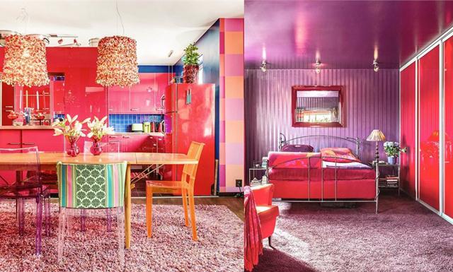 Världens färggladaste hem finns i Helsingborg – detta måste ses