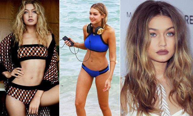 Gigi Hadids bästa strandtips: Så tränar och äter supermodellen i sommar