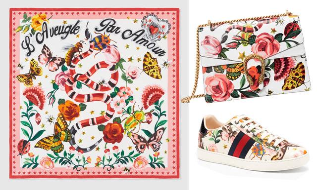 Se alla bilder från Guccis exklusiva online-kollektion