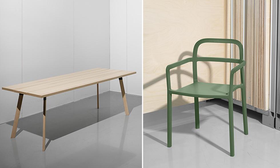 Kolla in de första bilderna från Ikeas samarbete med Hay