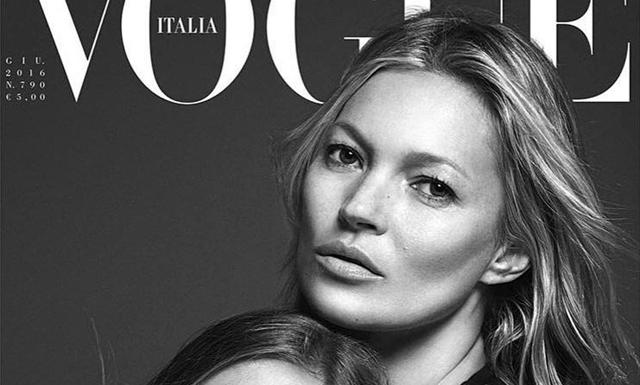 Kolla in när Lila Grace gör modelldebut med mamma Kate Moss i Vogue