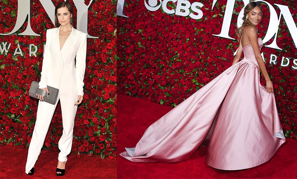 15 fina röda mattan-looks från Tony-galan 2016