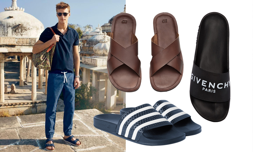 Snyggaste sandalerna för män sommaren 2016