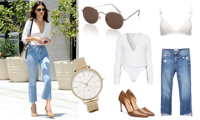 Veckans drömstil med Alessandra Ambrosio – vi visar hur du fixar looken