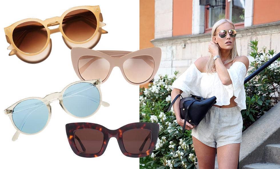 Snyggast solglasögon sommaren 2016 – 18 drömköp i butik just nu!
