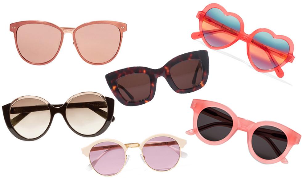 Sommarens 10 hetaste solglasögon