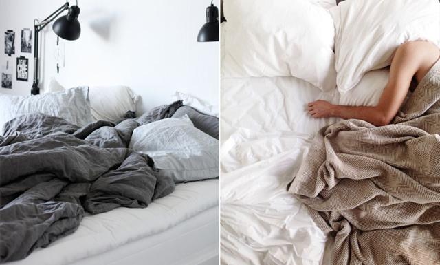 Därför ska du INTE bädda sängen på morgonen