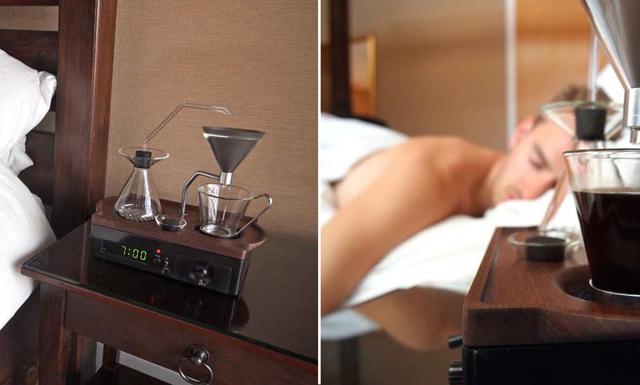 Väckarklockan som får dig att vakna till en kopp kaffe