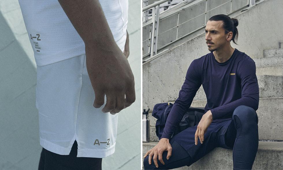 Nu kan du köpa Zlatan Ibrahimovićs nya klädmärke A-Z