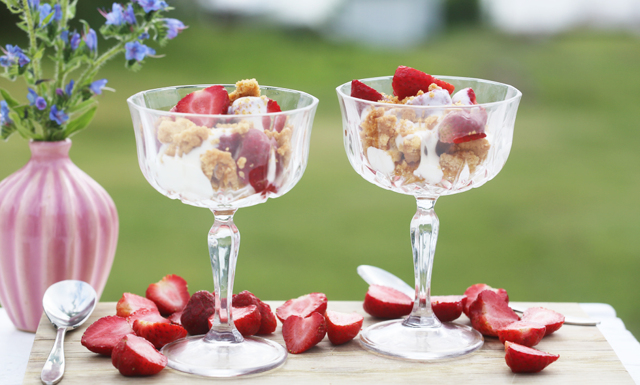WEBB-TV: Enklaste desserten i sommar stavas paj i glas