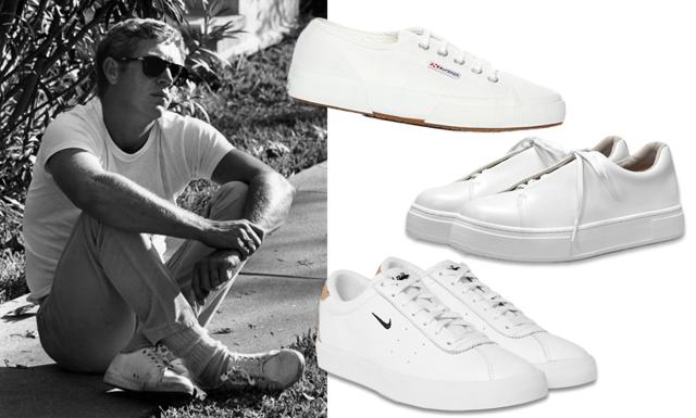 Moderedaktören tipsar – 8 snygga vita sneakers i butik just nu