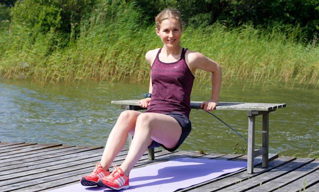 WEBB-TV: Träna hela kroppen med 14 övningar – på en bänk