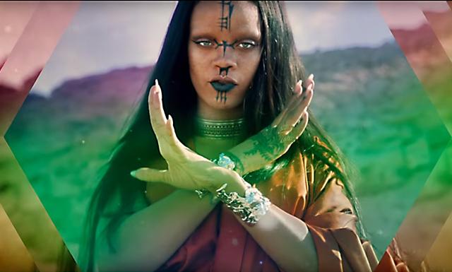 Se Rihannas nya musikvideo – låten blir filmmusik
