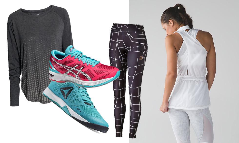 Snygga träningskläder som får dig att vilja börja träna direkt