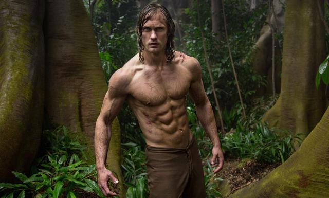 Träna som Tarzan – Skarsgård om hur han fick sin superkropp