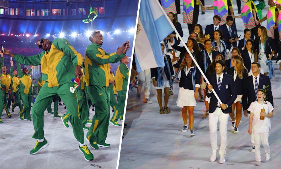 OS i Rio 2016 – De 10 bäst klädda nationerna under invigningen