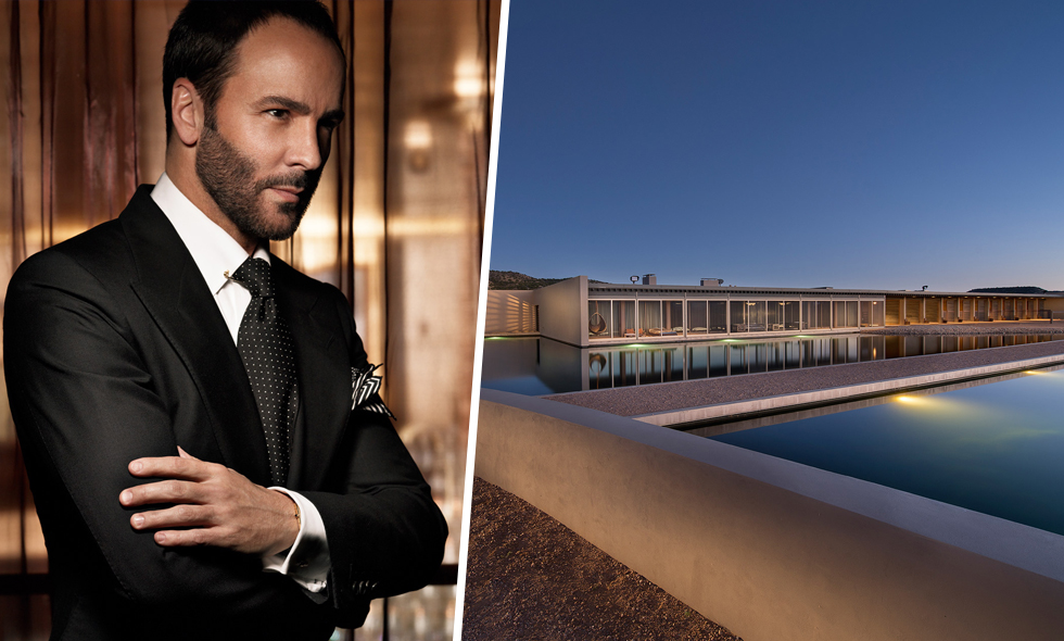 Modeskaparen Tom Ford säljer sin lyxiga ranch i New Mexico