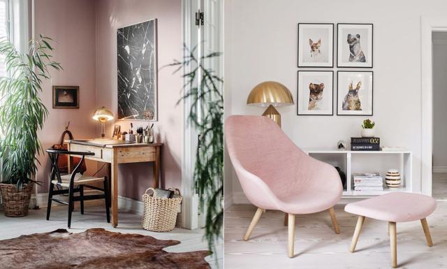 20 anledningar till varför du bör inreda ditt hem – med rosa