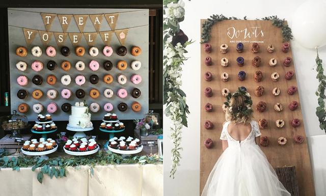 Senaste bröllopstrenden: I år ska desserten hänga på väggen