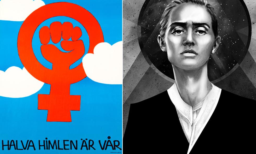 10 feministiska prints vi vill ha på väggen
