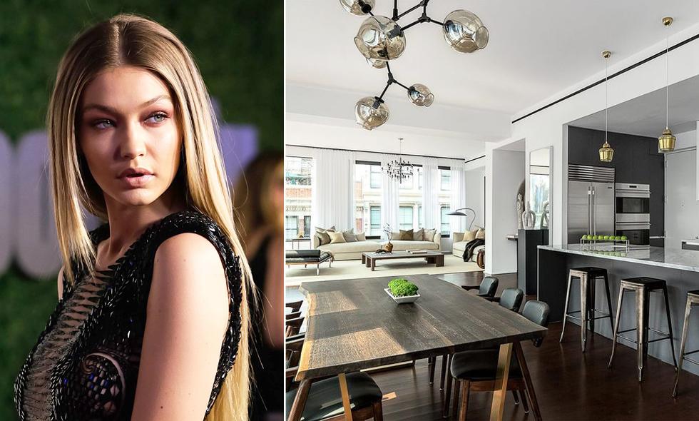 Kolla in Gigi Hadids nya hem – en fröjd för alla marmorälskare