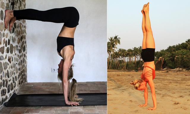 Yoga-guide: Så stärker du kroppen för handstående