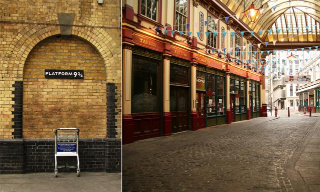 9 häftiga platser du måste besöka om du är ett Harry Potter-fan