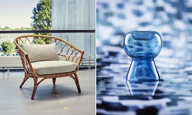 Blått är flott -Tjuvkika på bilderna från Ikeas nya kollektion