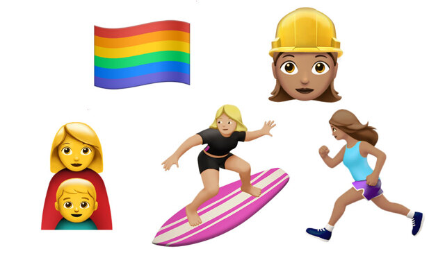 Girl Power! Apple lanserar 100 jämställda emojis