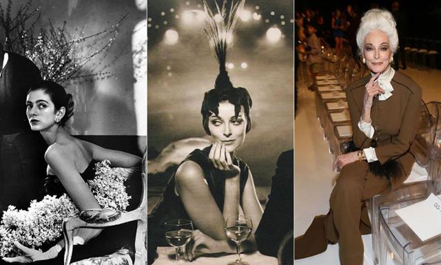 Lär känna världens äldsta professionella modell – Carmen Dell`Oregice