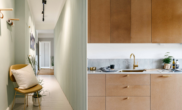 Veckans hem: en vind som blev en modern och stilren etagevåning