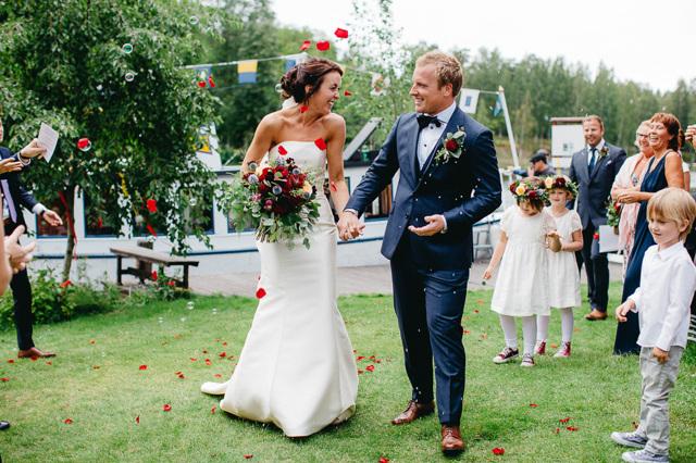 PT-Fia har gift sig med sin Kim: