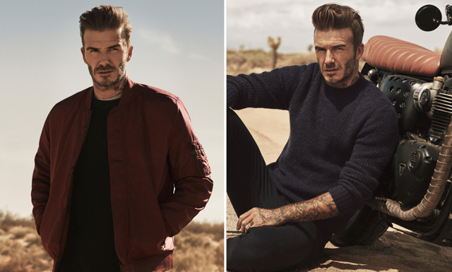 Kolla in Beckhams nya höstkollektion för H&M