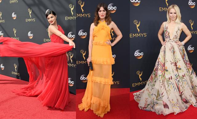 Färgstarkt under nattens Emmygala - kolla in de 19 bäst klädda
