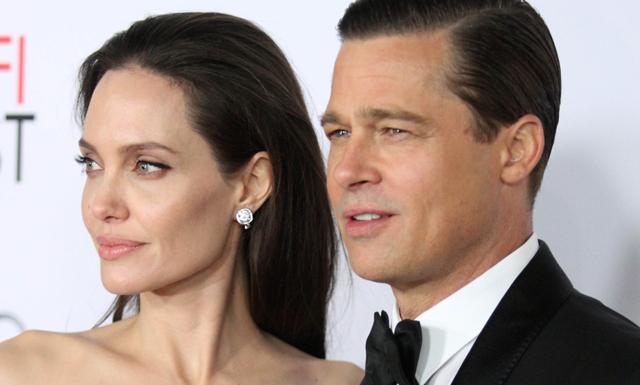 Angelina Jolie ansöker om skilsmässa